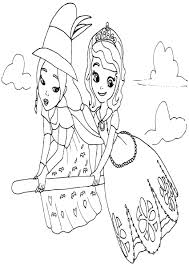 Small Picture Sofia Halloween Coloring Pages Coloring Coloring Pages