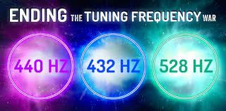432 Hz Frequency Chart 440 Hz Vs 432 Hz Vs 528 Hz Ending The Tuning Frequency War