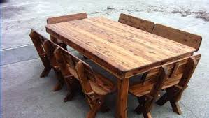 rustic wooden outdoor furniture. Perfect Wooden Rustic Wood Patio Table On Rustic Wooden Outdoor Furniture A