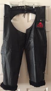 like new women s leather chaps xl