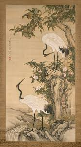 longevity in chinese art essay heilbrunn timeline of art cranes peach tree and chinese roses