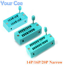 <b>2pcs IC</b> Sockets <b>IC lock</b> seat Test Universal Test Socket Narrow ...