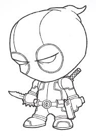 Small Picture Baby Deadpool Coloring Pages Coloring Coloring Pages