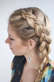 Plaits Hairstyle dutch side braid hairstyle tutorial hair romance 7274 by stevesalt.us
