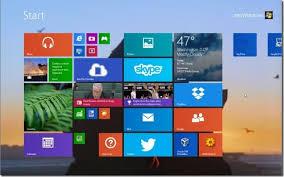 start screen background in windows 8 1