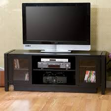 small glass door cabinets for living room comfortable home design tv and media storage units with doors best furniture stunning black wooden enhance your
