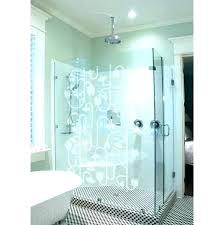 decals frosted window opaque for shower doors custom etched glass decal dandelions vinyl decor australia