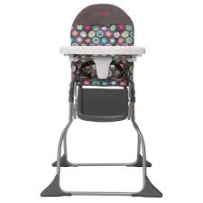 cosco simple fold high chair choose your pattern  walmartcom