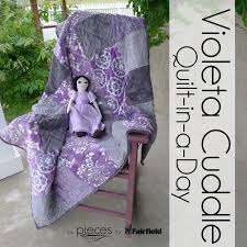 FREE PATTERN - violeta Cuddle Quilt-in-a-Day Free Pattern - from ... & FREE PATTERN - violeta Cuddle Quilt-in-a-Day Free Pattern - from Adamdwight.com