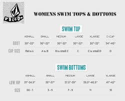 Volcom Womens Jacket Size Chart Volcom Summer Size Charts