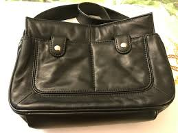 details about wilson leather handbag purse