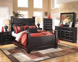 Charming Ashley Shay 4 Piece King Bedroom Set