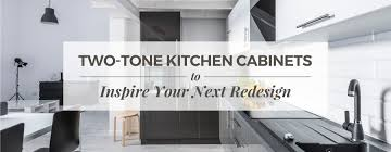 whether you re having your kitchen professionally designed or are jumping into the renovation on your own two toned kitchen cabinets could add some visual