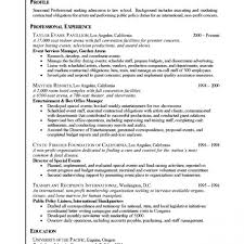 Resumes For Law School Endearing Resume Law School Application