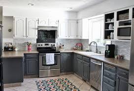 more 5 great kitchen design white cabinets black appliances