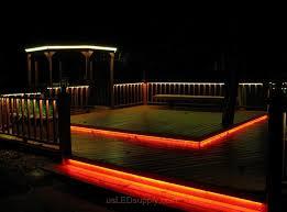 charming led patio deck lighting ideas