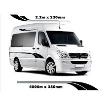 Camper Van Graphics Design Us 27 92 28 Off 4m Motorhome Stripes Camper Van Sprinter Vinyl Graphics Decals In Car Stickers From Automobiles Motorcycles On Aliexpress