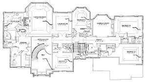 Saddle River New Home Floor Plans By Architect Robert ZampolinCustom House Plans