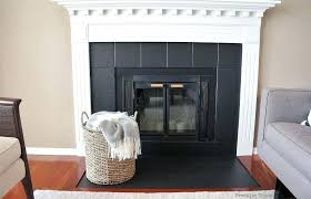 black tile around fireplace black fireplace paint wonderful tiles com black fireplace tile paint black tile around fireplace