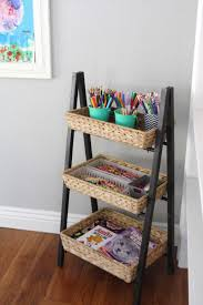 diy organizing ideas for kids rooms simple and organized children s art supplies easy storage