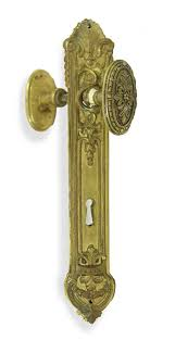 door knob sets antique french oval door knob set