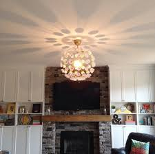 diy ceiling lighting. DIY-Sputnik-light Diy Ceiling Lighting