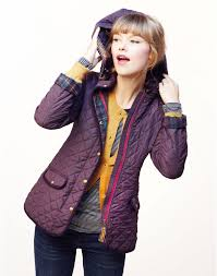 MARCOTTE Womens Quilted Jacket with Floral Lining and detachable ... & Joules MARCOTTE Womens Quilted Jacket with Floral Lining and hood, Purple.  Roll on chilly mornings, cold days and nippy nights! There's a new quilted  jacket ... Adamdwight.com