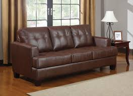 Small Picture Brown Leather Sleeper Sofa Queen AnsugalleryCom