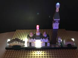 lego lighting. LEGO® Models Without Worrying About Running Wires Underneath Bricks, Drilling Holes In Plates Or Messing Around With Separate Batteries For Each Light Lego Lighting