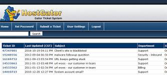 Hostgator Customer Support How To Make A Support Ticket On Hostgator
