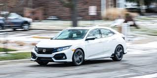 Honda Civic Speaker Size Chart 2017 Honda Civic Hatchback Cvt Automatic Review Car And