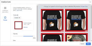 How To Use Custom Facebook Frames For Facebook Dynamic Ads Social
