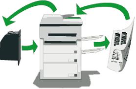 Resultado de imagen para manera de trabajar de una copiadora