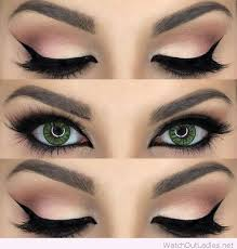 green eyes are very rarely found you should try these amazing eye makeup dels if