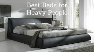 Best Mattress for Heavy People: 2019 Beds for a Large Person