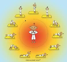 Sonnengruß Für Kinder Yogazeit Das Yogamagazin Aus österreich