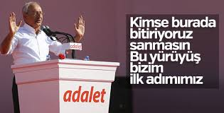 Kılıçdaroğlu'nun Maltepe'deki konuşması
