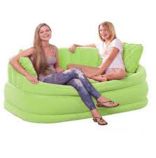 intex inflatable lounge chair. INTEX INFLATABLE FLOCKED SETTEE AIR SOFA LOUNGER CHAIR COUCH CAFE Intex Inflatable Lounge Chair
