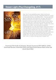 Ocean Light Nalini Singh Read Online Free F R E E D O W N L O A D R E A D Ocean Light Psy Changeling