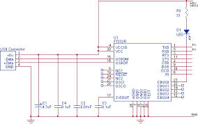 rs232 serial to usb converter cable schematic · allpinouts another scheme