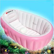 baby inflatable bath tub portable inflatable baby bath kids bathtub thickening children washbowl children tub toddlers