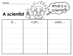 What Do Scientists Do Anchor Chart What Is A Scientist Anchor Chart And Word Search