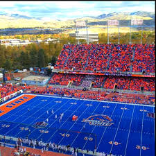 Boise State University Go Broncos Home Of The Smurf Turf