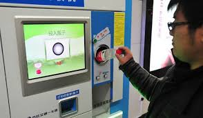 Plastic Bottle Recycling Vending Machine New In China You Can Pay For A Subway Ticket By Recycling Living