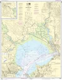 Oceangrafix Noaa Nautical Chart 18654 San Pablo Bay