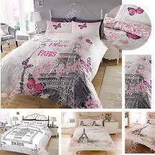 Paris Bedding   eBay & Paris Theme Luxury Duvet Covers Quilt Covers Reversible Bedding Sets All  Sizes Adamdwight.com