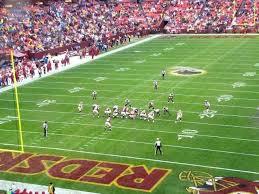 Washington Redskins Seating View Redskins Zone D Club