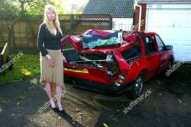 Wendy Sutton her Volvo after Ian Jessett Photos éditoriales libres de  droits - Image libre de droits | Shutterstock