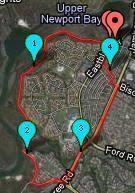 google map pedometer gmaps pedometer