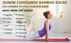 Bamboo Socks, Sunew Soft Mens and Womens ... - Amazon.com